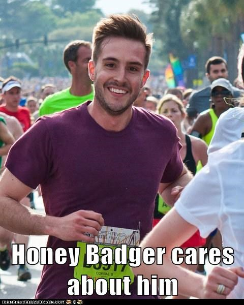droll, Honey Badger memes