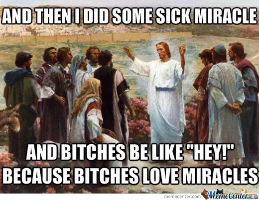 droll, Miracles memes
