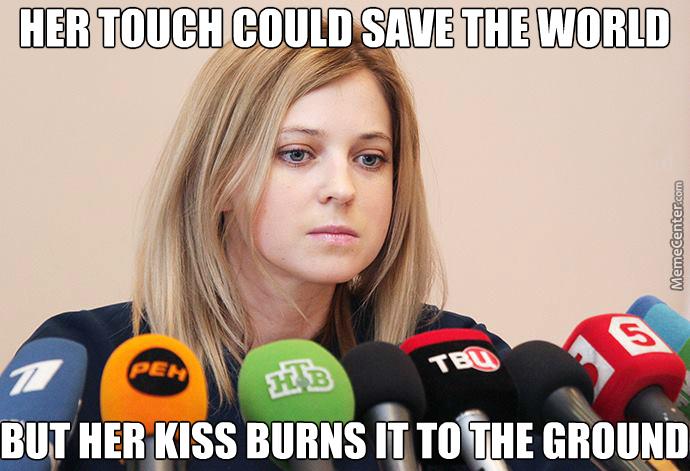 droll, Natalia Poklonskaya memes