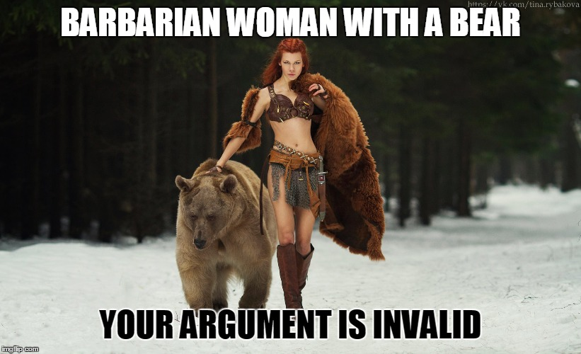 droll, Your Argument Is Invalid memes