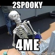 droll,2Spooky memes