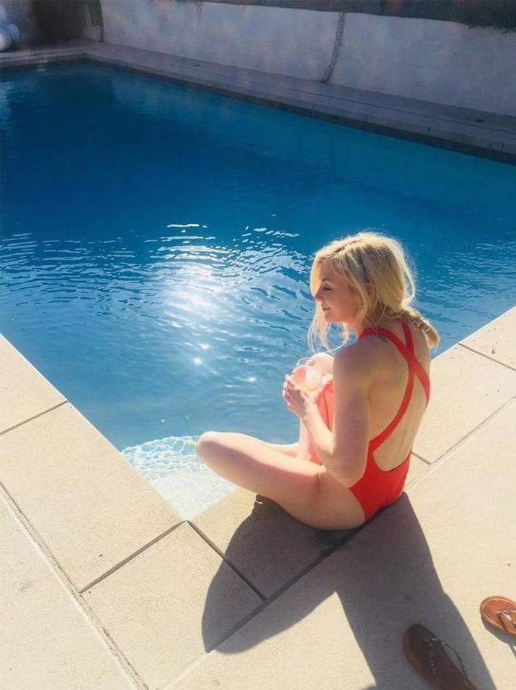 emily kinney swimsuit