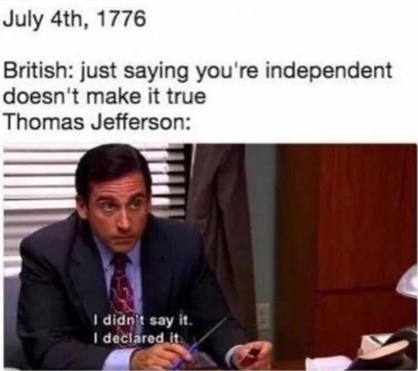 entertaining 4th of july meme
