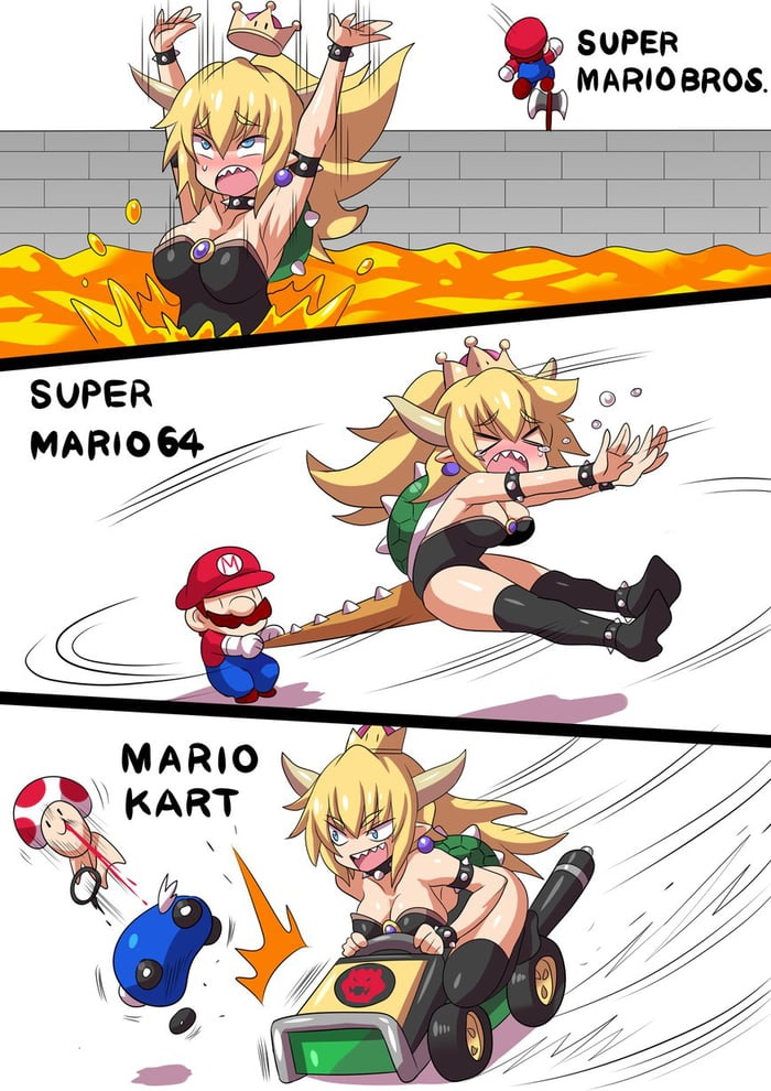 100 Bowsette Memes Are About The Metamorphic Female Bowser