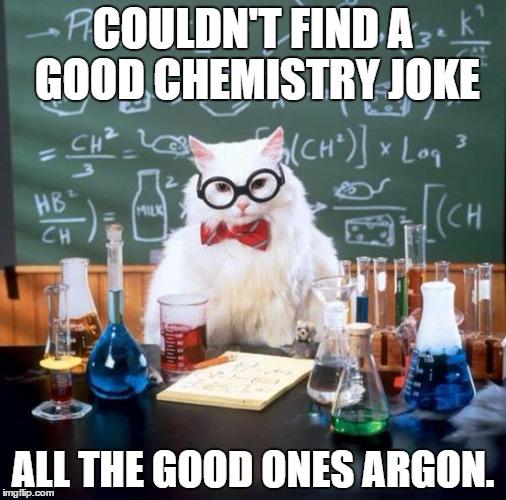 entertaining Chemistry Cat memes