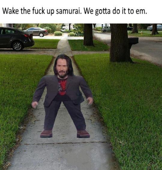 entertaining Keanu reeves memes
