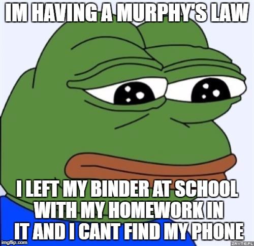 entertaining Sad frog memes