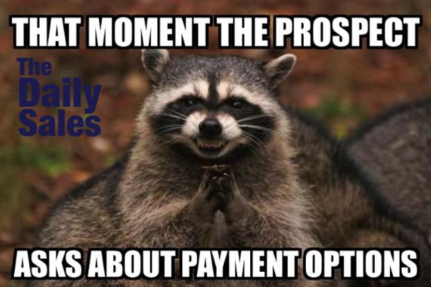 entertaining sales memes
