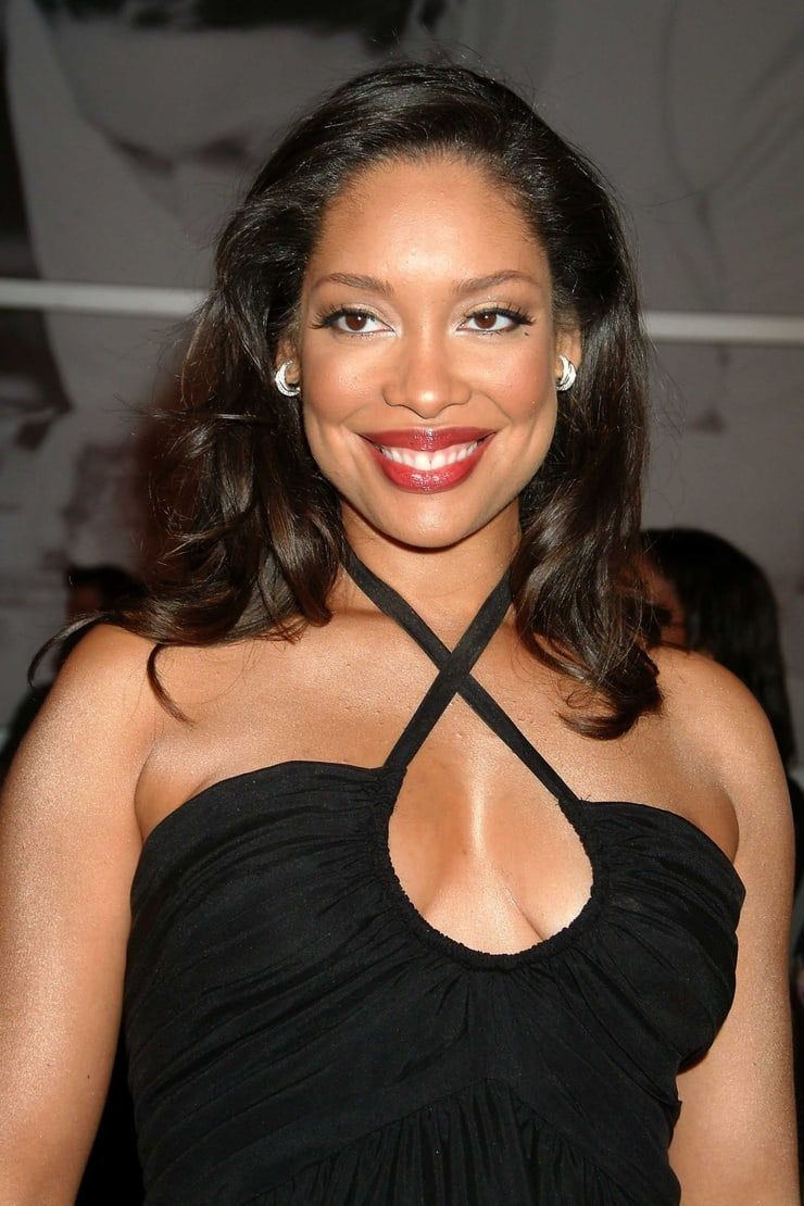 gina torres cleavage