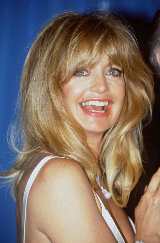 goldie hawn hot smile
