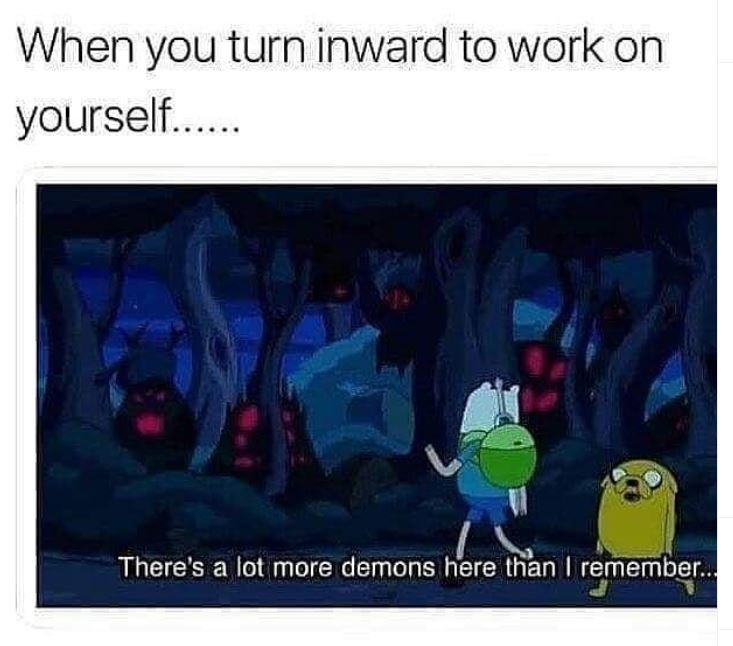 high-spirited Adventure Time memes
