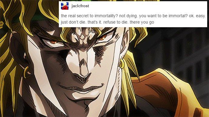 high-spirited JoJo's Bizarre Adventure memes