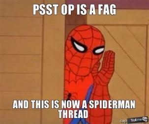 high-spirited OP is a Faggot memes