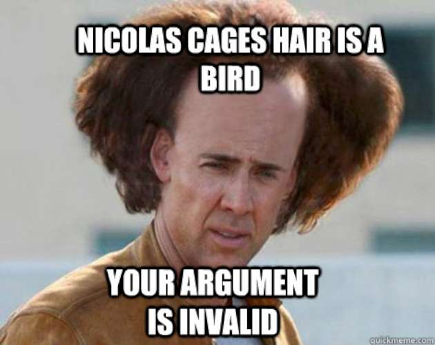 high-spirited Your Argument Is Invalid memes