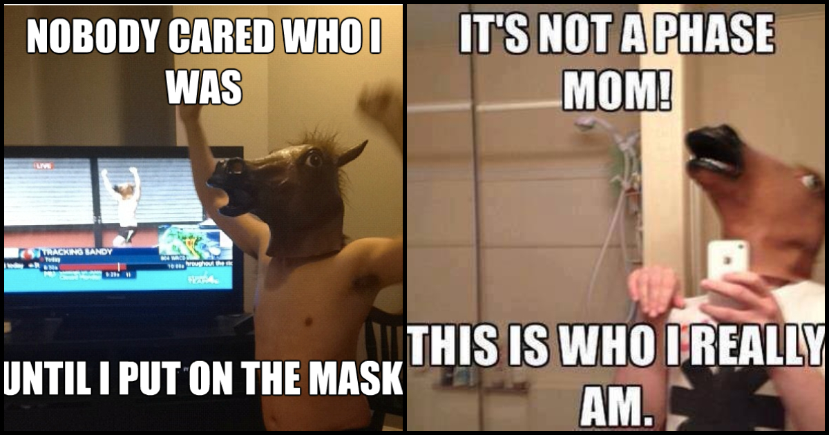 50 Horse Head Mask Memes Are Sure To Give You A Good Laugh Geeks On Coffee