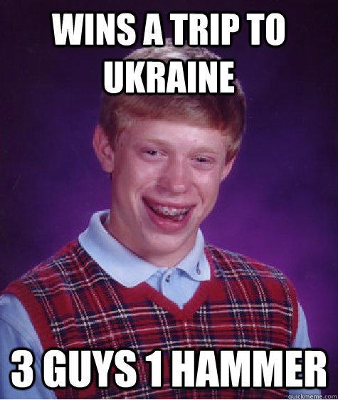 humorous 3 Guys 1 Hammer memes