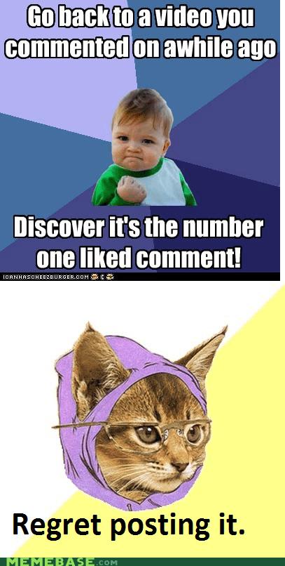 humorous Hipster Kitty memes