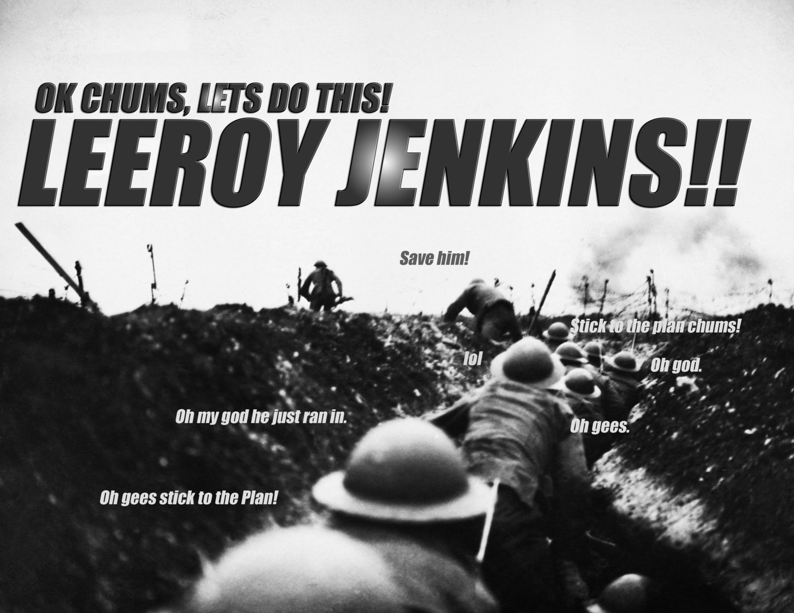 humorous Leeroy Jenkins memes