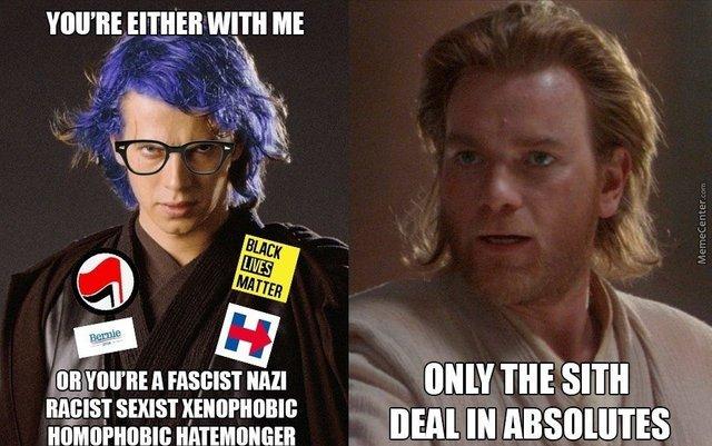 humorous antifa meme