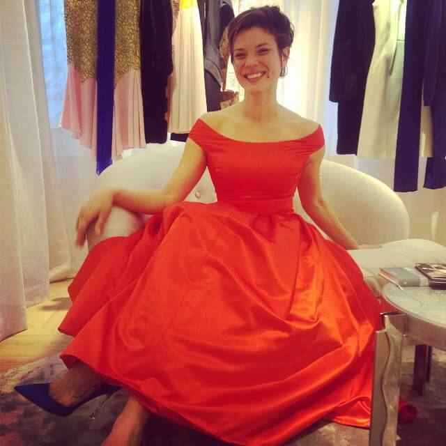jeananne goossen red dress