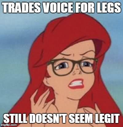 jolly Hipster Ariel memes