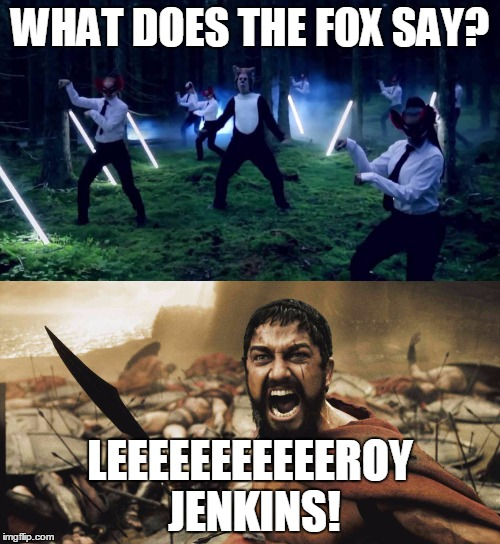 jolly Leeroy Jenkins memes