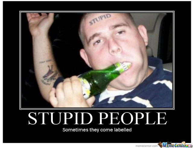 jolly Stupid people memes