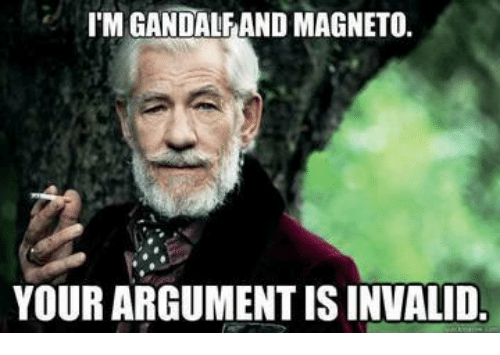 jolly Your Argument Is Invalid memes