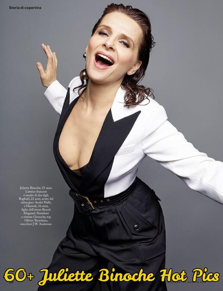 juliette binoche looking hot