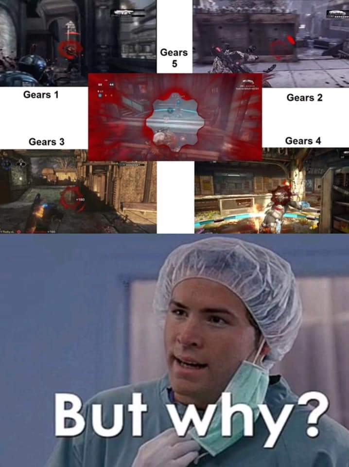 laughable Gears 5 memes