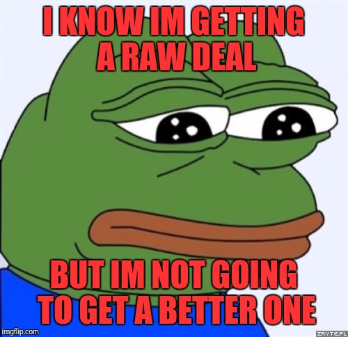 laughable Sad frog memes