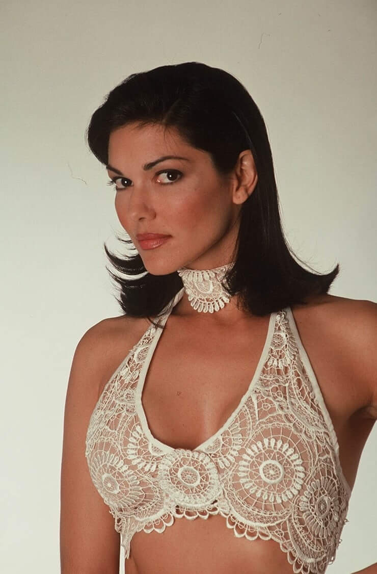 laura harring cleavage