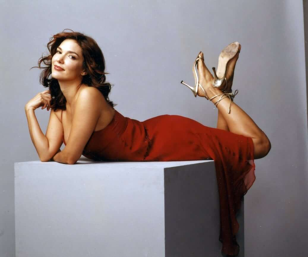 laura harring feet