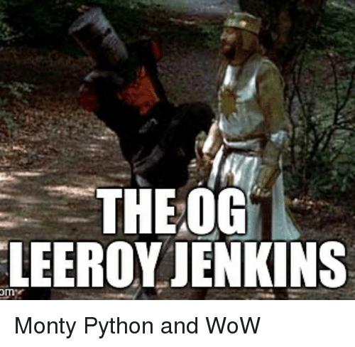 lively Leeroy Jenkins memes
