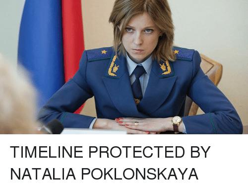 lively Natalia Poklonskaya memes