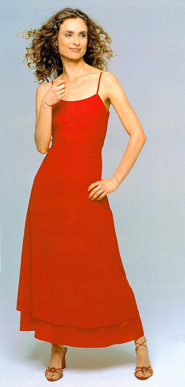 maryam dAbo red dress