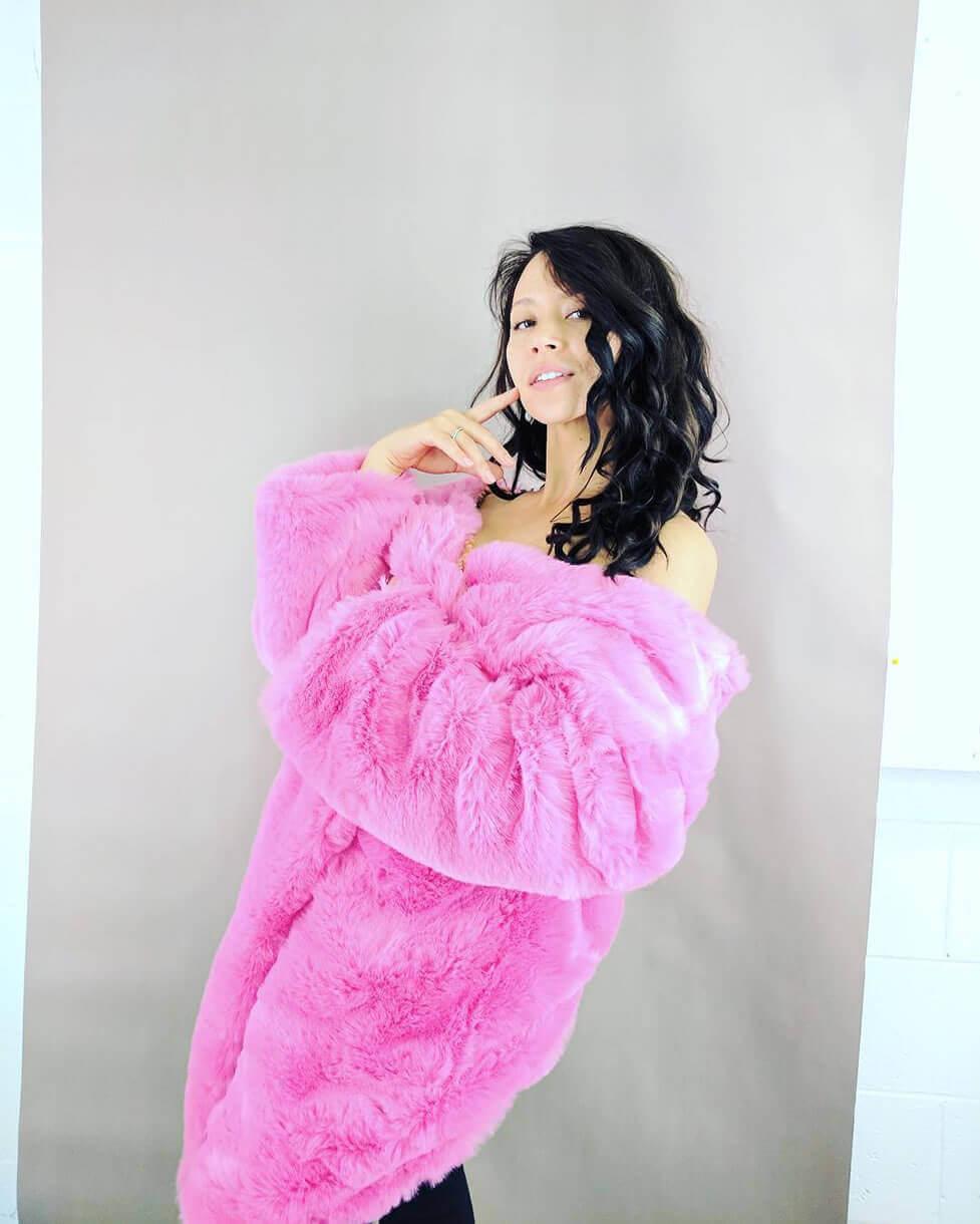 melissa oneil pink dress