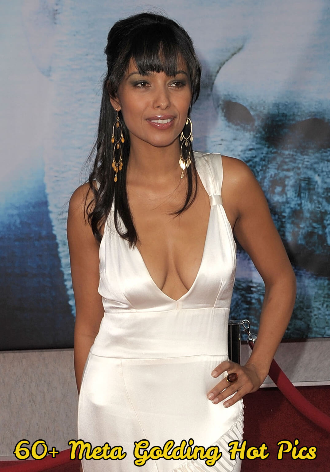meta golding sexy cleavage