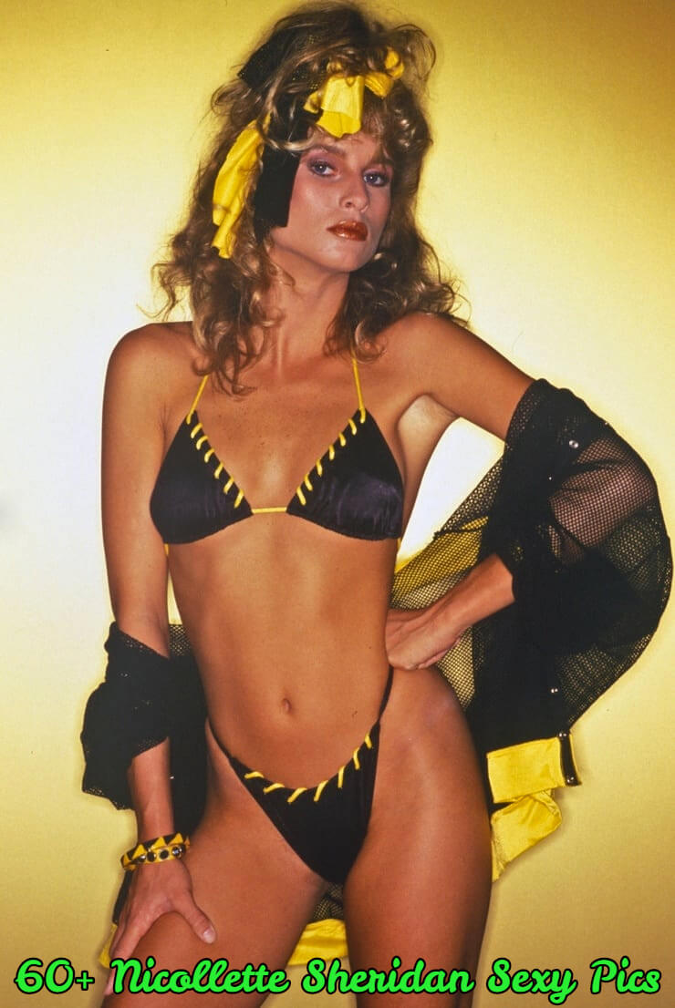 nicollette sheridan bikini