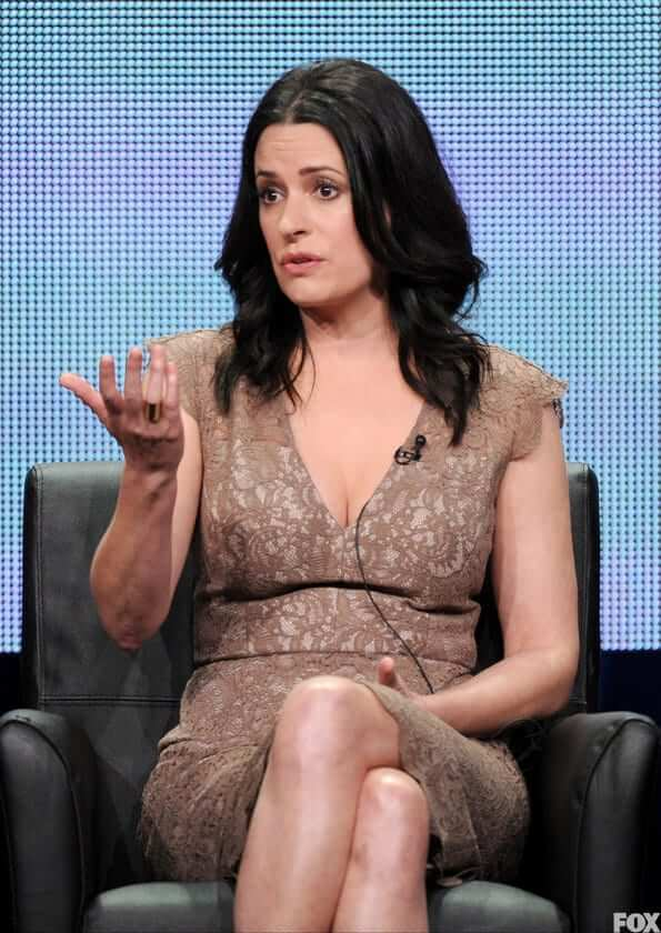 paget brewster cleavage photo