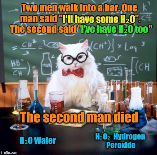 sparkling Chemistry Cat memes