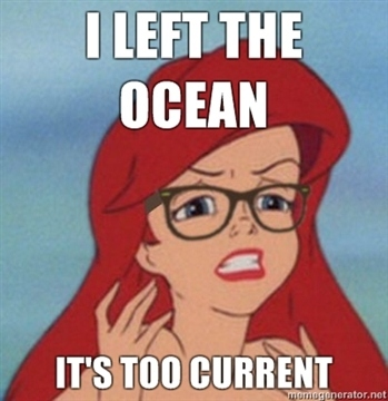 sparkling Hipster Ariel memes