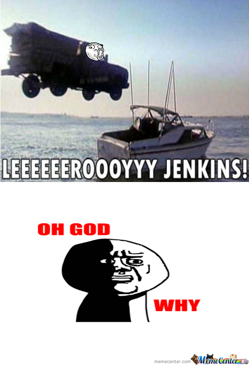 sparkling Leeroy Jenkins memes