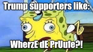 sparkling Mocking SpongeBob memes