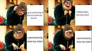 sparkling ffxv memes