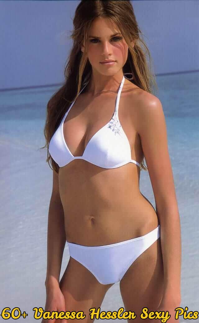 vanessa hessler white bikini