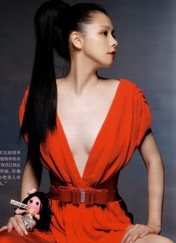 vivian hsu cleavage