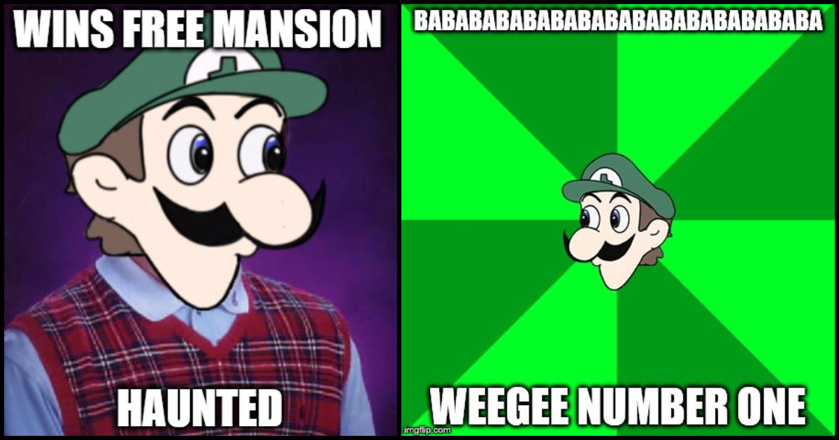 80 Weegee Memes Are A Parody Of Luigi From Super Mario Geeks On