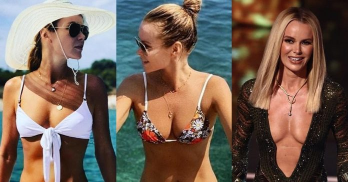61 Amanda Holden Sexy Pictures Are Windows Into Paradise