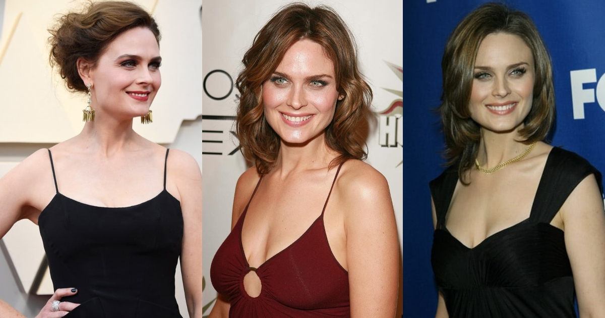 61 Emily Deschanel Sexy Pictures Are Too Damn Appealing